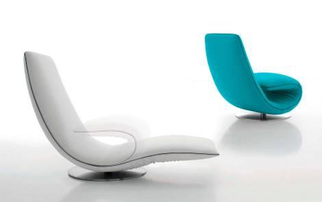 Ricciolo, la sinuosa poltrona-chaise longue   LILOCO